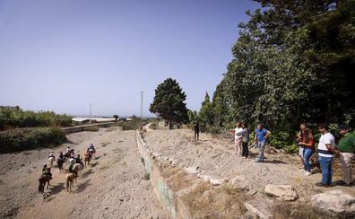 Motril recibirá 200.000 euros para arreglar las ramblas y prevenir las riadas en invierno