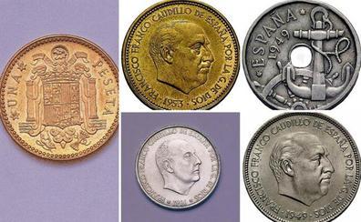 5 monedas de pesetas que pueden venderse por hasta 20.000 euros