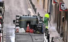 El Ayuntamiento de Linares y Urbaser ponen en marcha un nuevo servicio de limpieza de calles