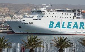 Balèaria refuerza la línea Almería-Nador con el ferri Bahama Mama