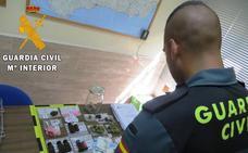 Iban camino del Dreambeach con un arsenal de drogas y los han 'cazado' agentes de la Guardia Civil