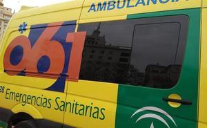 Un muerto de 25 años y dos hermanas, unas niñas pequeñas, heridas graves en un accidente de tráfico en Alcolea (Almería)