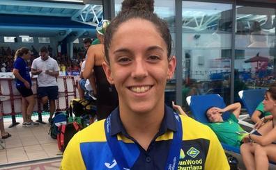 Marta Bonilla, campeona de España Junior en los 100 metros mariposa