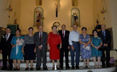 Cinco matrimonios de Mecina Bombarón celebran sus bodas de oro y son homenajeados