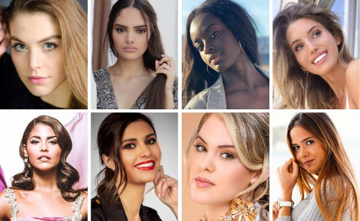Las 53 candidatas que aspiraron a 'Miss World Spain 2019'