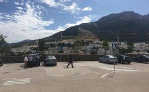 Acuerdan ampliar el parking del hospital de Cazorla, recién construido y sin inaugurar aún