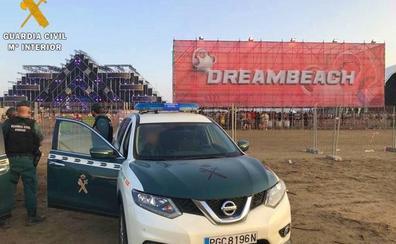 Un total de 19 detenidos en el Dreambeach, en su mayoría por delitos contra la salud pública
