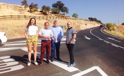 La Diputación acondiciona la carretera de acceso a Vilches desde la A-312