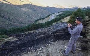 ¿Cómo puede registrarse un fuego a 2.320 metros de altitud?