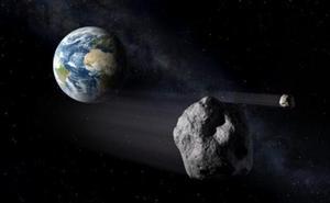 Se acerca a la tierra un asteroide de 160 metros de diámetro