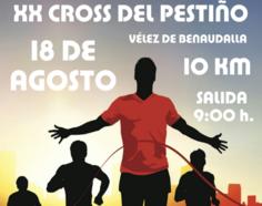 Este domingo se celebrará el vigésimo «Cross del Pestiño» en Vélez de Benaudalla