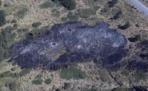 El Infoca da por extinguido el incendio en Sierra Nevada casi 24 horas después de poner en marcha el dispositivo