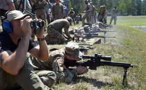 La BRILEG y la BRIPAC participan en el 'European Best Sniper' de tiradores de precisión