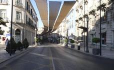 Granada, 15 de agosto, ciudad desierta