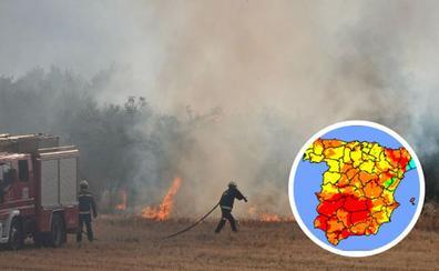 «Riesgo extremo» de incendio en la provincia de Granada en un verano con 13 fuegos forestales declarados