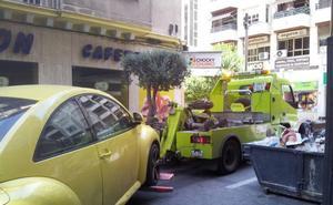 Tendencia a la baja en la Jaén en las multas por ir sin cinturón y por conducir con el móvil