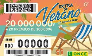 Comprueba si has ganado 20 millones de euros en el Sorteo Extra de Verano de la ONCE