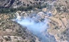 Controlado el incendio en Cástaras, en la Alpujarra