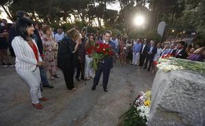 Entrena: «No habrá justicia real hasta que no se abra la última fosa del franquismo»