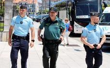 Los agentes extranjeros que patrullan con la Guardia Civil