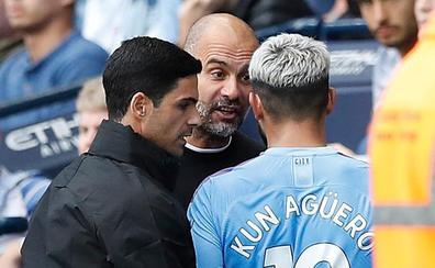 Bronca y posterior reconciliación entre Guardiola y Agüero