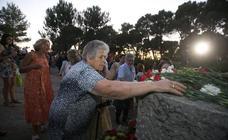 El 83 aniversario de la muerte de García Lorca en imágenes