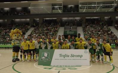 El Jaén Paraíso Interior FS cae en la cancha del campeón europeo