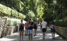 Los bosques de la Alhambra, el mejor refugio contra el calor