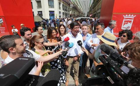 Ciudadanos descarta en Andalucía una coalición electoral con el PP porque «no está en su ADN»