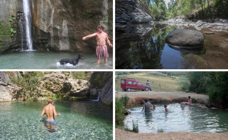 10 piscinas naturales o al aire libre de Granada para bañarse este verano