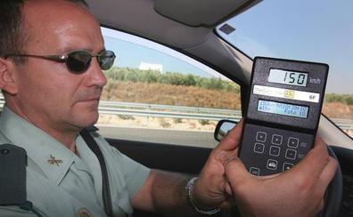 La Guardia Civil multa a uno de cada seis coches en Jaén por ir demasiado rápido