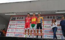 Carlos Rodríguez, cuarto en la carrera en línea del Campeonato de España júnior