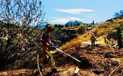 Segundo incendio en menos de veinticuatro horas en la zona entre la Alcantarilla y el Puente de la Sierra