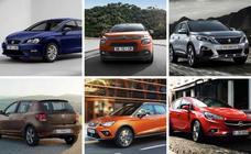 Estos son los 10 coches más vendidos en España en 2019