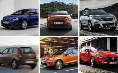 Los 10 coches más vendidos en España en lo que llevamos de 2019, según la OCU
