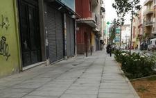 PSOE denuncia el deterioro de la calle Ancha pocos días después de su inauguración