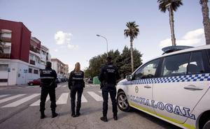 La Policía incauta en Salobreña un ciclomotor con el que dos jóvenes hacían carreras