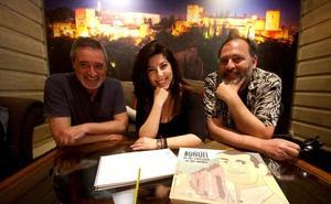 Los granadinos que han participado en la película sobre Buñuel presente en la carrera a los Oscar