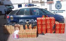 Intervenidas en La Línea más de 15.000 cajetillas de tabaco
