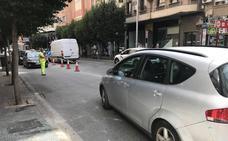 Tráfico por el cambio del acceso al parking de la Constitución