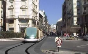 Así circularía el metro por el centro de Granada