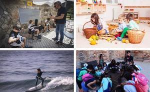 Rock para niños y deportes acuáticos para pasar un fin de semana diferente en familia