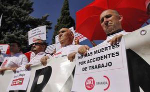 UGT exige plan de choque contra el repunte de la siniestralidad laboral en Andalucía