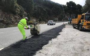 Estas son las carreteras de la provincia de Granada que van a lucir como nuevas