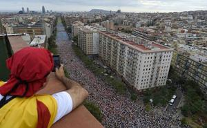 Los inscritos para la Diada caen un 25% en plena división del independentismo