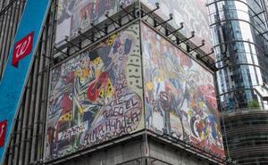 Alcaudete tiene un palco privado en Times Square