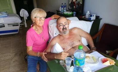 Un español atrapado en Punta Cana: se rompió la cadera y debe 6.000 euros en facturas hospitalarias