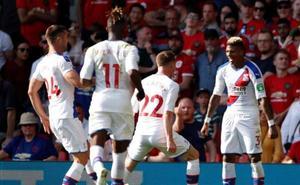 El Crystal Palace asalta Old Trafford