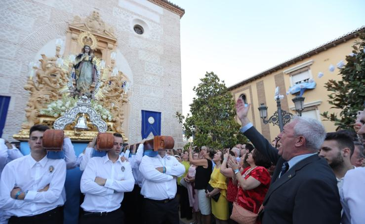 Procesión de la Inmaculada Concepción en Alhendín