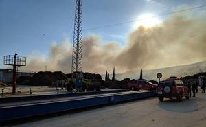 Cierran la planta de residuos vegetales de Motril hasta reparar los daños causados por un incendio